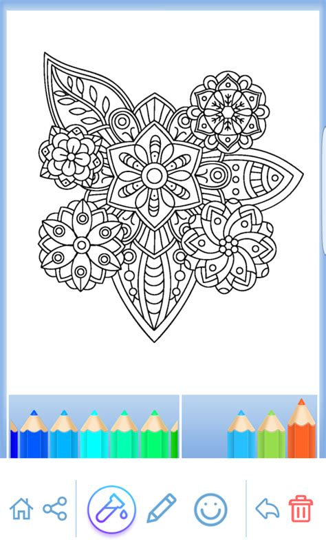 Mandala Coloring For Adults Android Apps On Google Play Coloring Apps For Adults