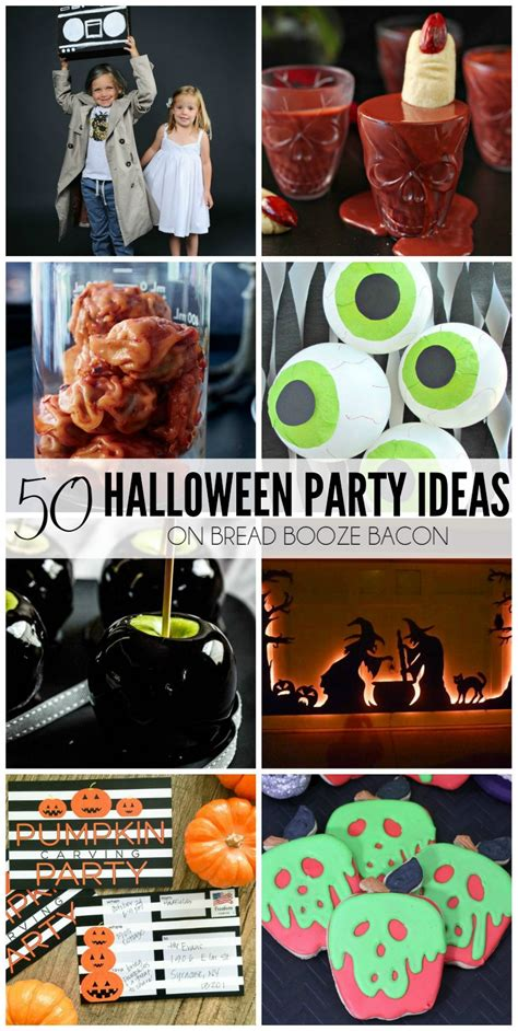halloween party themes 2015 50 halloween party ideas bread booze bacon