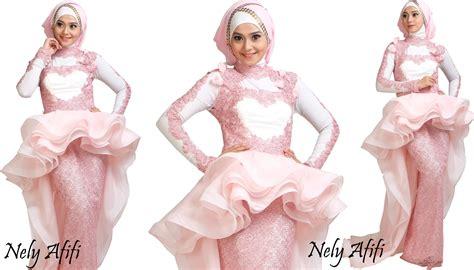 Bahan Organdi organza for muslimah evening dress