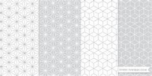 freebie geometric photoshop patterns every tuesday