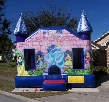 princess bounce house bounce house rentals miami party rental in miami dade