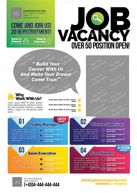 Employment Flyer Template vacancy flyer vacancy flyer template
