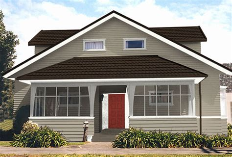 exterior house colour schemes created by resene ezypaint painting software