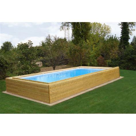 piscine giardino fuori terra piscina fuori terra con rivestimento in legno di abete prezzi