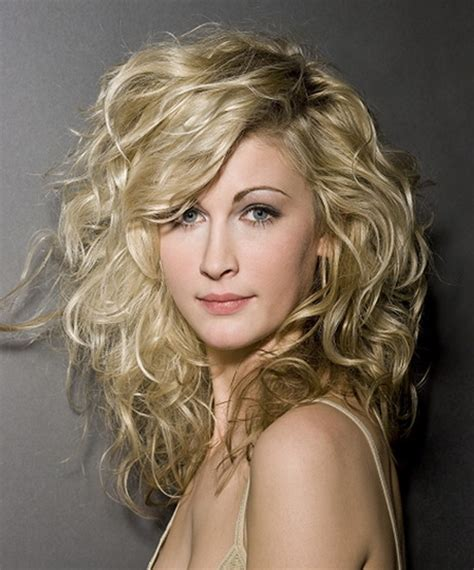 short layered curly hairstyles for wavy hair medium length layered haircuts for curly hair