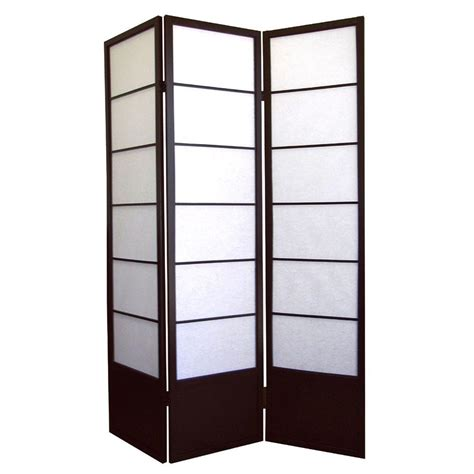 home depot room divider home decorators collection 5 83 ft espresso 3 panel room divider r5419 the home depot