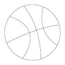 what color is a basketball basketball drawing to color
