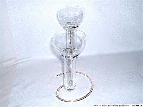 schwimmkerzenhalter glas 2er versilberter schwimmkerzenhalter glas rosenthal ebay