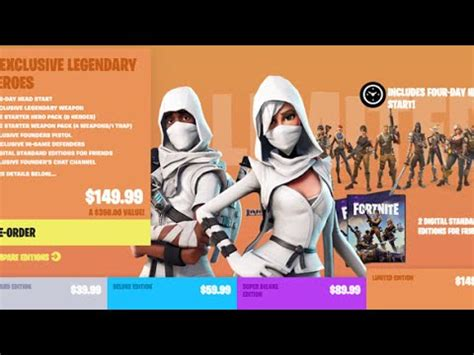 fortnite founders pack fortnite buying limited edition founder s pack regrets