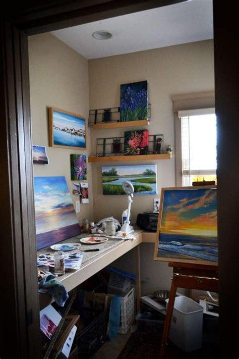 art studio design ideas for small spaces modern little closet art studio it s a beautiful thing when artists