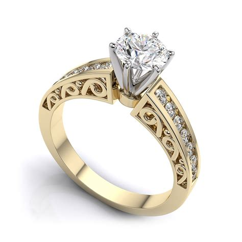 Wedding Rings Yellow Gold by Beautiful 41 Yellow Gold Rings For Tififi Co