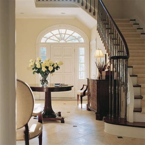 Staircase Ideas Near Entrance Entrance Foyer