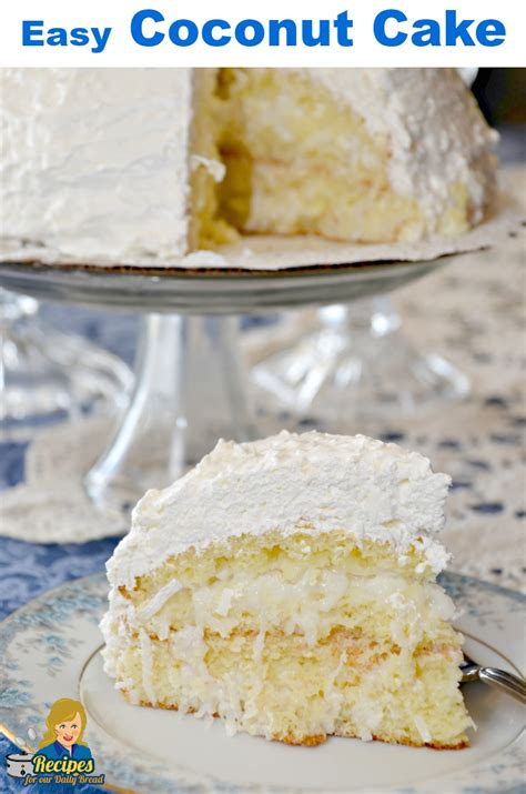 coconut cake made easy easy coconut cake with 5 simple ingredients