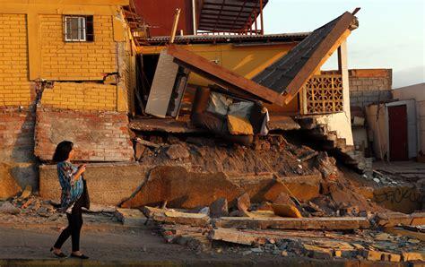 Earthquake Boston | earthquake off the coast of chile photos the big