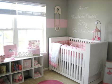 Gray And Pink Nursery Decor Pink And Gray Nursery Design Contemporary Nursery Hgtv