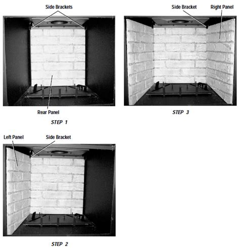 Fireplace Panel Replacement by Replacement Refractory Panel 23 5 Inch X 27 5 Inch
