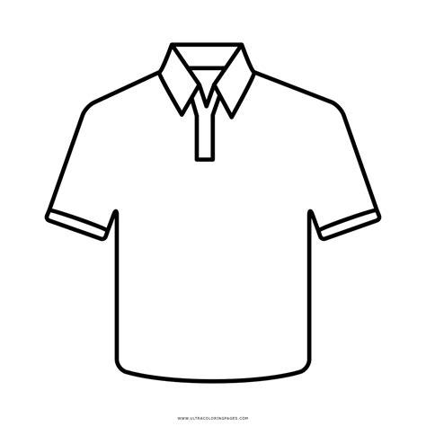 camisa y corbata para colorear dibujo de camisa para colorear ultra coloring pages