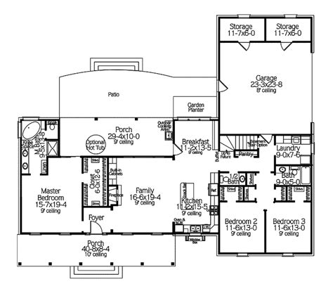 houseplans and more beautiful home plans and more 4 country ranch house floor