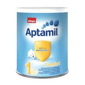 aptamil comfort 1 mlije芻na formula za bebe 400 g stranica
