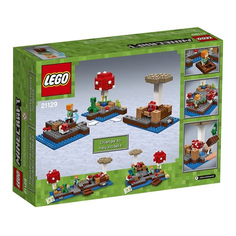 Lego Minecraft 21129 The Island lego minecraft the island 21129 ezgifthouse
