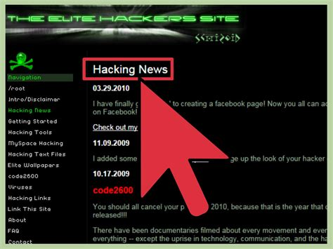 hack ideas code the 4 best ways to hack a website wikihow