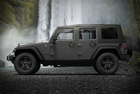 Jeep Willys Edition Jeep Wrangler Willys Wheeler Edition