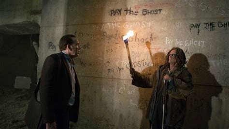 ghost film with nicolas cage pay the ghost review nicolas cage searches for lost son