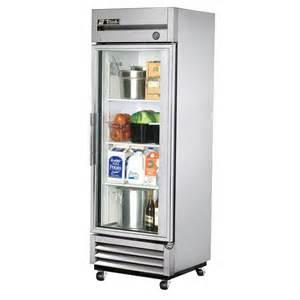 Home Refrigerator With Glass Door True T 19g 27 Quot Glass Door Reach In Refrigerator
