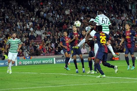barcelona vs celtic chions league groups match day 3 celtic could not