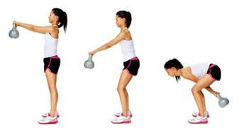 Kettlebell Swings 3 kettle bell exercises every should be doing