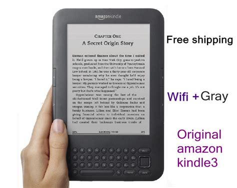 amazon original original amazon kindle3 kindle ebook e ink screen wifi 4g
