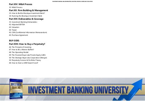 Work In Investment Banking Without Mba by Investment Banking Exit Opportunities Buy Side On January
