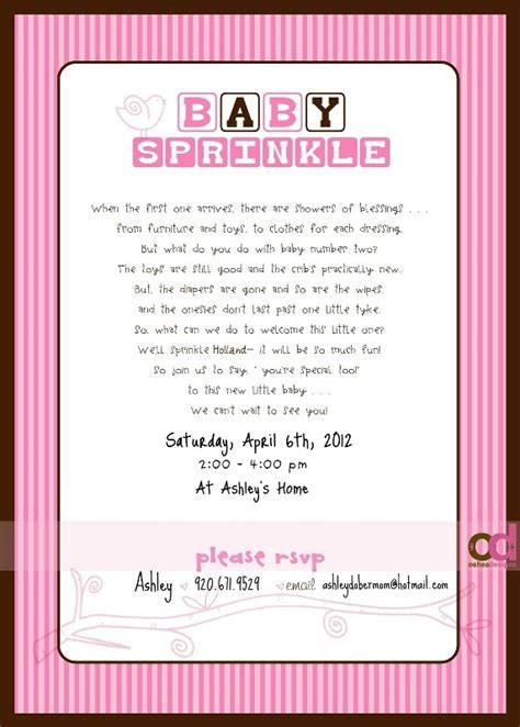 sprinkle invitations templates pin by schultz on for my friend s baby sprinkle