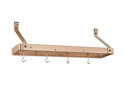 enclume wall mounted narrow bookshelf rack williams sonoma