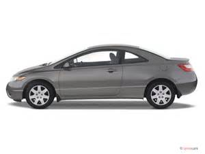 2007 honda civic coupe 2 door at lx side exterior view