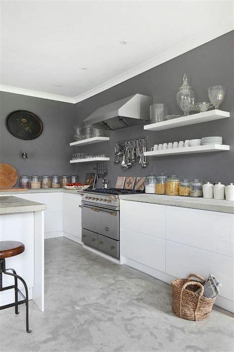 tendance cuisine 50 exemples avec la couleur grise