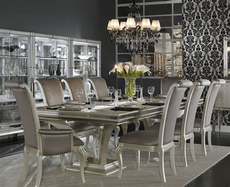 hollywood swank bedroom set dining set by aico hollywood swank collection