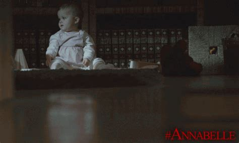 annabelle doll gif the conjuring annabelle