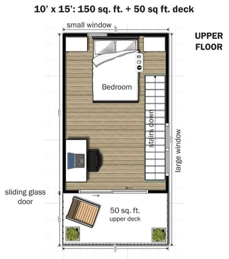 350 square foot house simple elegance in this two story 350 sq ft micro home