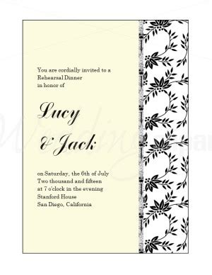 who is invited to the rehearsal dinner wedding etiquette printable floral flourish wedding rehearsal invitation template