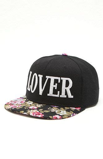 Topi Custom One United united couture lover floral snapback hat at pacsun