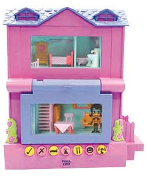 2 Story House Pixel Chix 2 Storey House Childrens Gift Review Compare