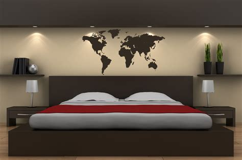 Word Art Stickers For Walls world map world atlas wall stickers wall art decal