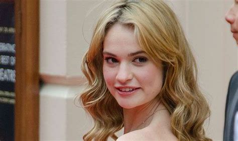 cinderella the actress what a fairytale downton abbey actress lily james to star
