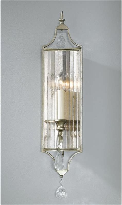 Mirrored Wall Sconces Lighting Channel Antiqued Mirror Sconce 1 Lt Wall Sconces By