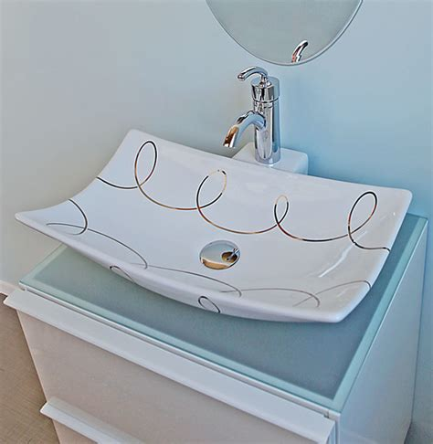 painted bathroom sinks bathrooms with gold platinum hand painted sinks