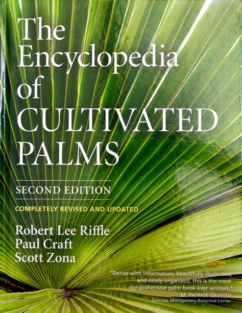 encyclopedia of cultivated palms gardensonline encyclopedia of cultivated palms edition 2