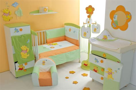 Nice Baby Nursery Furniture Set With Winnie The Pooh From Winnie The Pooh Bedroom Furniture Set