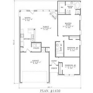 3 Bedroom Open Floor Plans 3 Bedroom