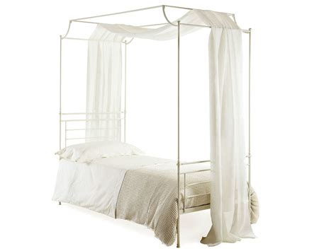 Single Bed Canopy Iron Single Bed Ciro By Cantori